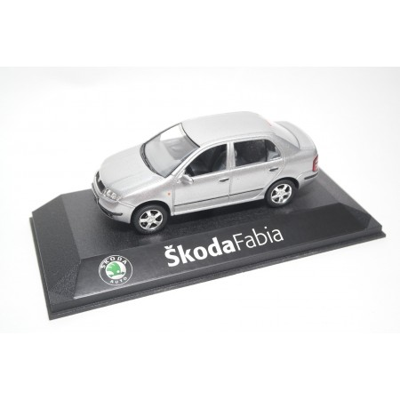 Kaden Škoda Fabia Sedan I 6Y3 2001 - Diamond Silver Metallic