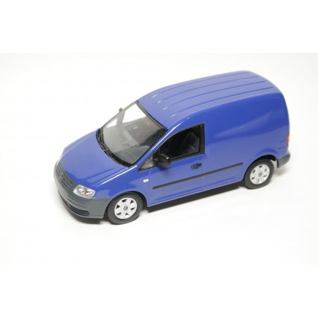 Minichamps Volkswagen Caddy Kasten 2K 2004 - Surf Blue X