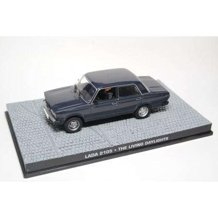"Altaya VAZ-2105 Lada 1300 S ""The Living Daylights"" 1987 - Dark Blue Grey"