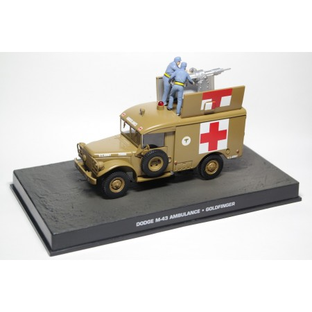 "Altaya Dodge M-43 Ambulance ""Goldfinger"" 1964 - Military Sand"