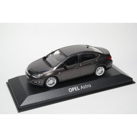 Minichampps Opel Astra J Sedan 2012 - Platin Anthrazit Perleffekt