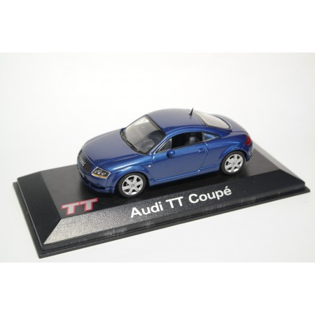 Minichamps Audi TT Coupé 8N 1998 - Denim Blue Pearl