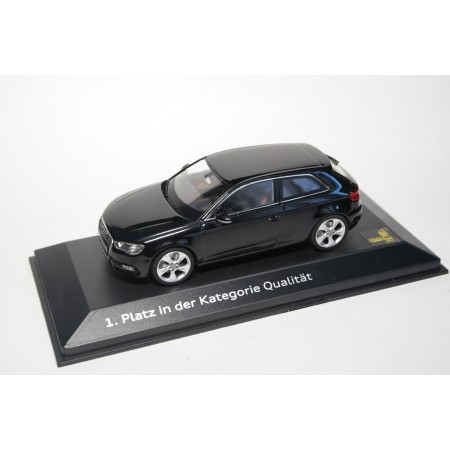 Schuco Audi A3 3-door 8V 2012 - Phantom Black Metallic