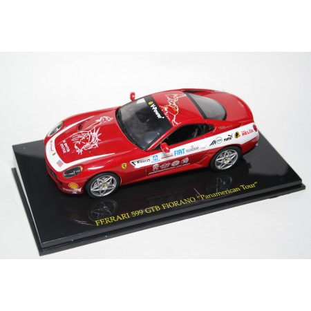 "Altaya Ferrari F599 GTB Fiorano ""Panamerican Tour"" 2006 - Red"