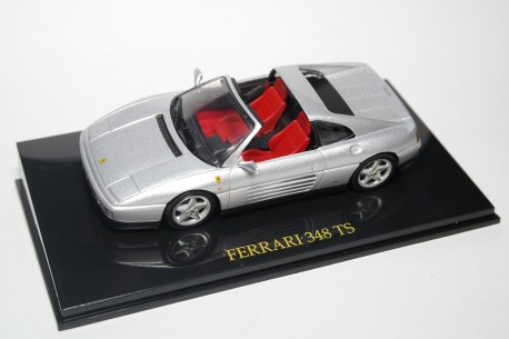 Altaya Ferrari 348 TS 1989 - Silver Metallic