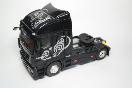 "Eligor Iveco Stralis 560 E5 ""All Blacks"" 2007 - Black"