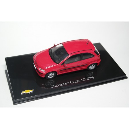 Hachette Chevrolet Celta 1.0 2000 - Red