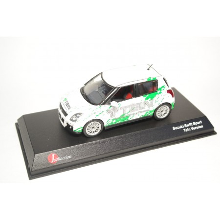 "J-Collection Suzuki Swift Sport 5-door ""Tein Version"" ZC31S 2006 - White"