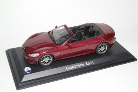 Whitebox Maserati GranCabrio Sport 2011 - Rosso Magma Metallic