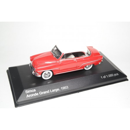 Whitebox Simca Aronde Grand Large 1953 - Red with White Roof