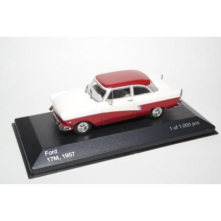 Whitebox Ford Taunus 17M P2 1957 - Dark Red/Beige