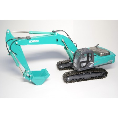 China Promo Models Kobelco Acera Geospec SK350LC-8 2018 - Kobelco Blue Green
