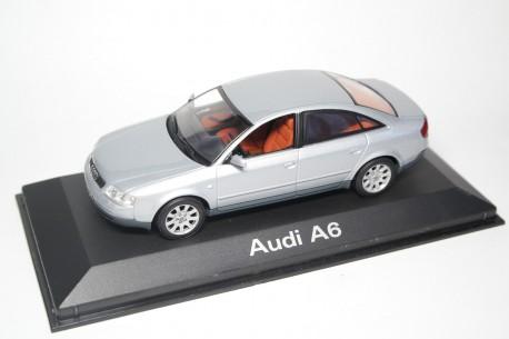 Minichamps Audi A6 Limousine C5 1997 - Light Silver Metallic
