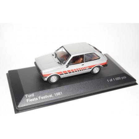 Whitebox Ford Fiesta Festival Mk1 1981 - Silver Metallic