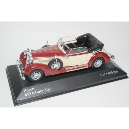 Whitebox Horch 853A Cabriolet 1938 - Burgundy/Beige