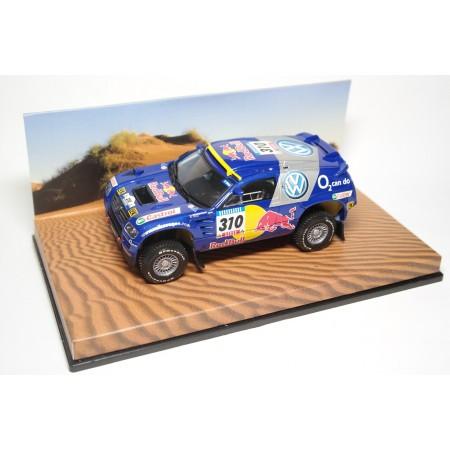 """Minichamps Volkswagen Race Touareg #310 """"Red Bull Racing"""" Rally Dakar 2005 - J.Kleinschmidt/F.Pons"""