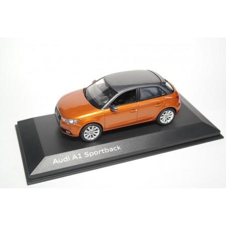 Kyosho Audi A1 Sportback 8X 2012 - Samoa Orange Metallic with Daytona Gray Metallic Roof