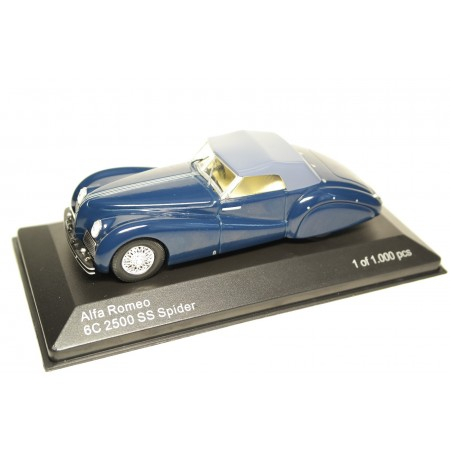 Whitebox Alfa Romeo 6C 2500 SS Spider 1939 - Dark Blue