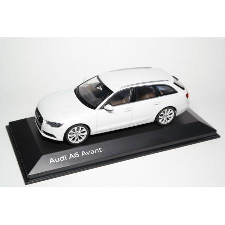 Schuco Audi A6 Avant C7 2011 - Glacier White Metallic