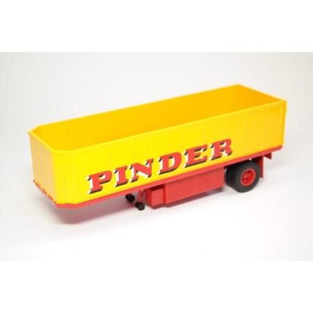 "Altaya Напівпричіп Fiche 75 ""Cirque Pinder"" 1955 - Yellow"