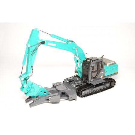 China Promo Models Excavator Kobelco Acera Geospec SK200-8 with attachments for Autodismantling 2018 - Kobelco Blue Green