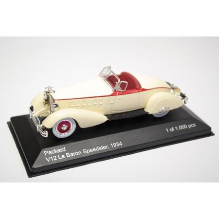 Whitebox Packard V12 Le Baron Speedster 1934 - Cream Beige