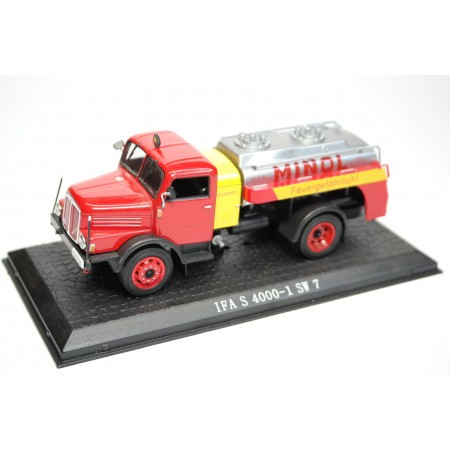 "Atlas IFA S 4000-1 SW7 ""Minol"" 1958 - Red/Yellow/Silver"