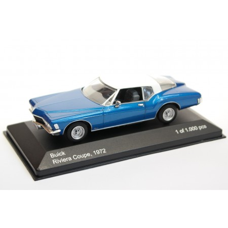 Whitebox Buick Riviera III Coupe 1972 - Blue Metallic with White Roof