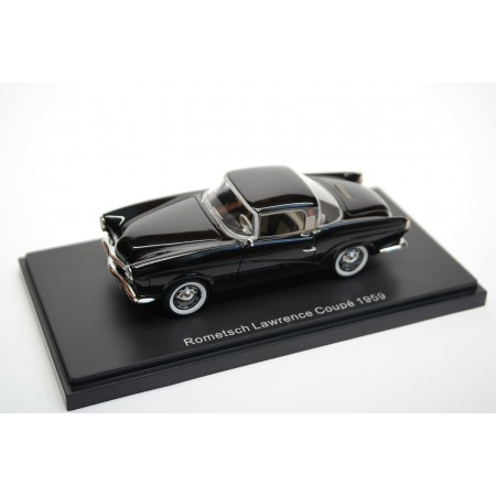 BoS-Models Volkswagen Rometsch Lawrence Coupé 1959 - Black