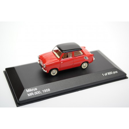 Whitebox Mikrus MR-300 1958 - Red with Black Roof