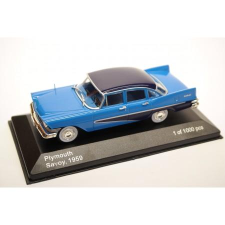 Whitebox Plymouth Savoy Mk.3 4-Door Sedan 1959 - Blue with Violet Roof