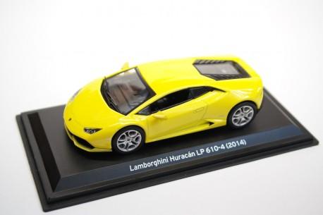 Leo Models Lamborghini Huracán LP610-4 2014 - Giallo Orion Pearl