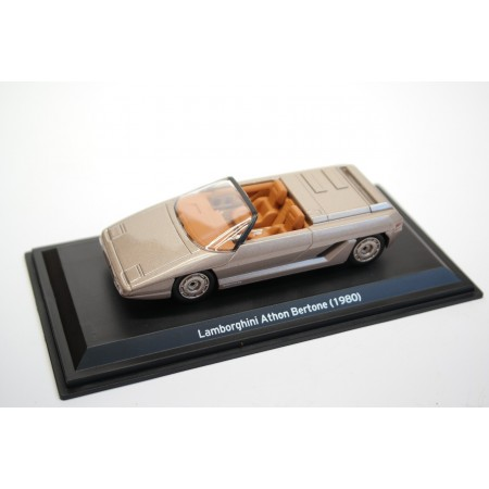 Leo Models Lamborghini Athon Bertone 1980 - Light Brown Metallic