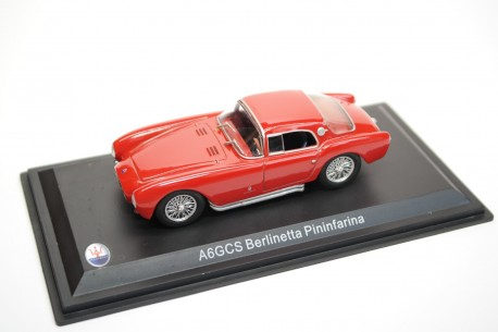 Leo Models Maserati A6GCS Berlinetta Pininfarina 1953 - Red