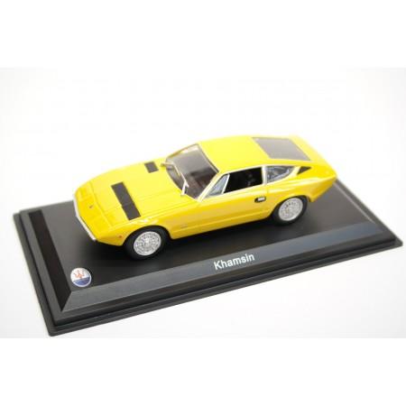 Leo Models Maserati Khamsin 1973 - Yellow