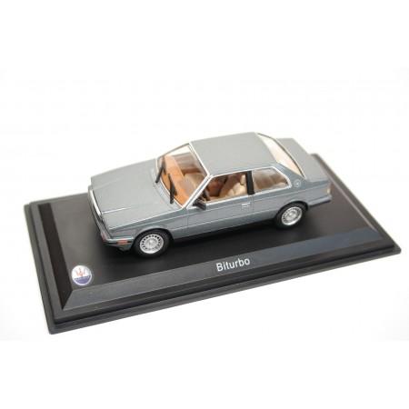 Leo Models Maserati Biturbo 1982 - Grey Blue Metallic