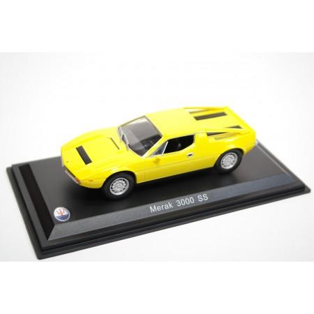 Leo Models Maserati Merak 3000 SS 1975 - Bright Yellow