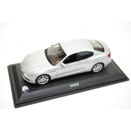 Whitebox/Leo Models Maserati Ghibli III 2013 - Grigio Metallic