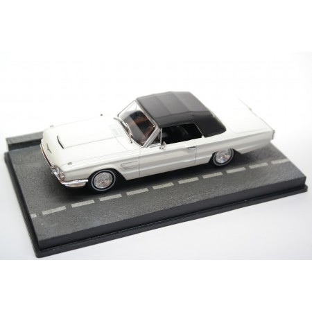 "Altaya Ford Thunderbird Convertible 76A ""Thunderball (1965)"" 1965 - White with Black Roof"