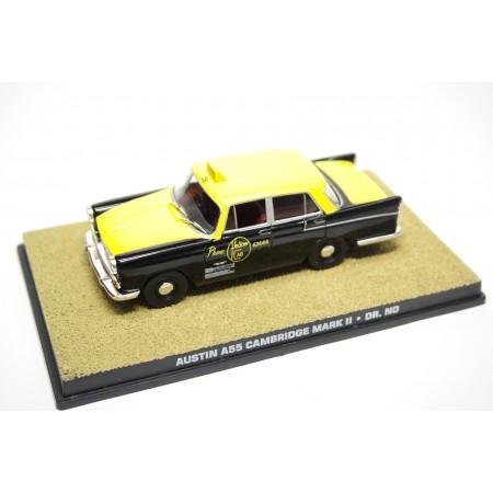 "Altaya Austin A55 Cambridge Mark II Taxi ""Dr. No (1962)"" 1959 - Black/Yellow"