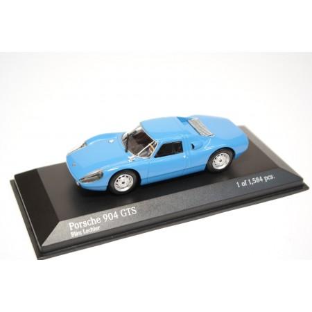 Minichamps Porsche 904 GTS 1964 - Blue Lechler