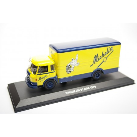 "IXO Saviem JM 21/240 ""Michelin"" 1970 - Yellow/Blue"