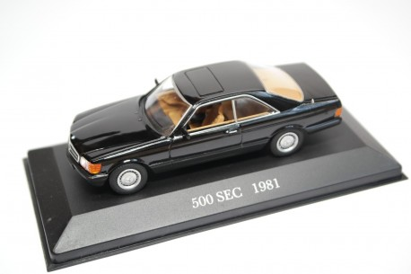 Altaya Mercedes-Benz 500 SEC W126 1981 - Black