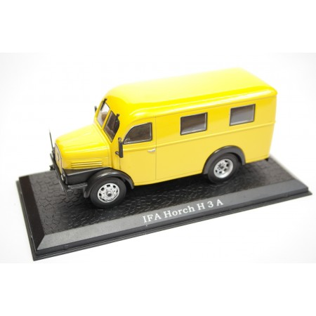 Atlas IFA Horch H3A Kastenwagen Deutsche Post 1950 - Yellow