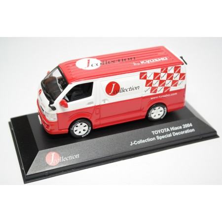 "J-Collection Toyota Hiace H200 Panel Van ""J-Collection by Kyosho"" 2004 - White/Red"