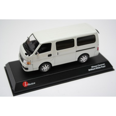 J-Collection Nissan Caravan Bus E25 Facelift 2006 - Brilliant White Pearl