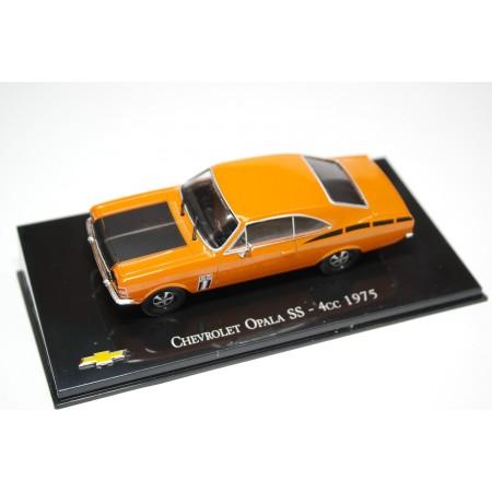 Hachette Chevrolet Opala SS 4cc 1975 - Orange/Black