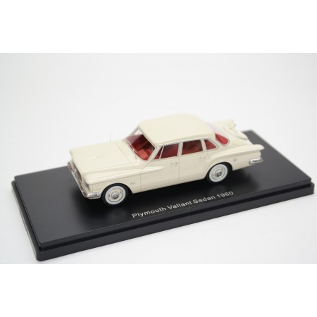 Neo Scale Models Plymouth Valiant Sedan I 1960 - Light Beige