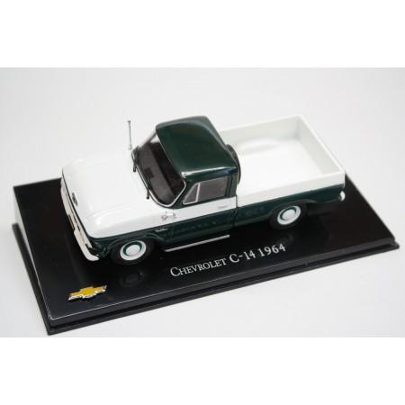 Hachette Chevrolet C-14 1964 - Dark Green/White
