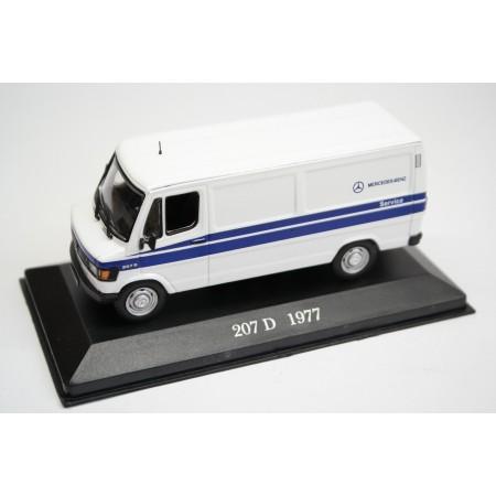 "Altaya Mercedes-Benz 207 D W601 ""Mercedes-Benz Service"" 1977 - White/Blue"